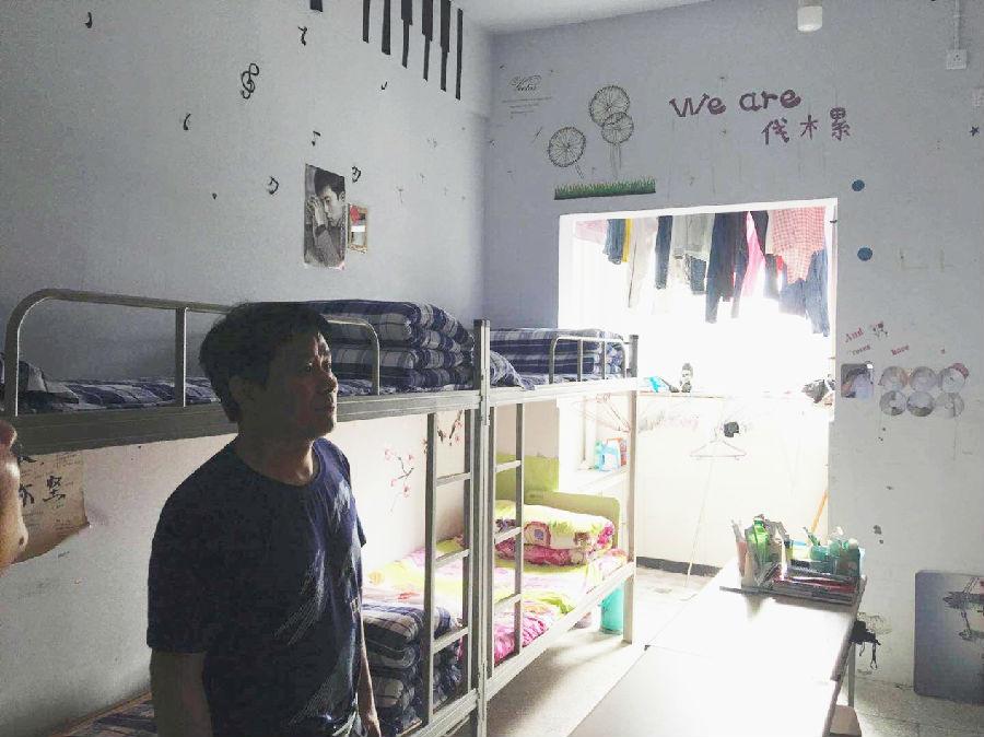 学生公寓成网红宿舍啦!--夔门高中开展2018年学校对口v宿舍的朱家山高中图片